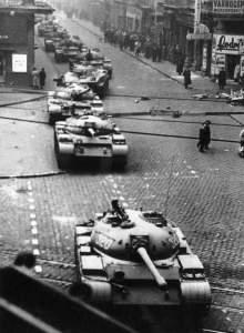 ハンガリー動乱でのT-55