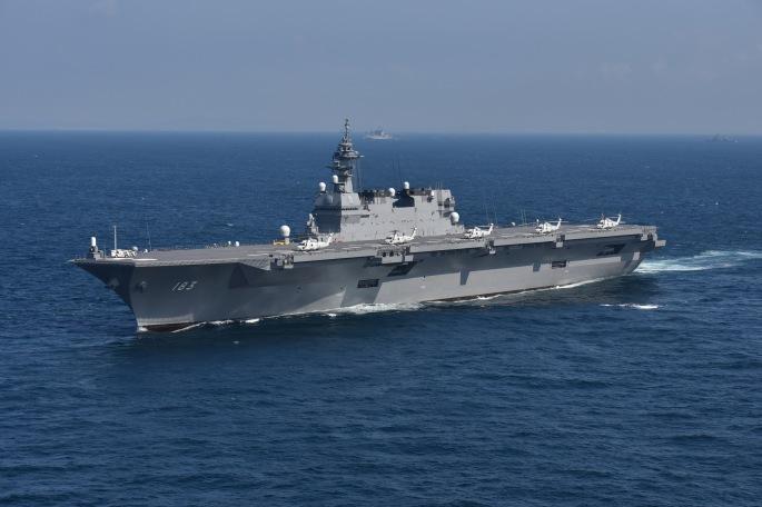 海上自衛隊いずも型護衛艦